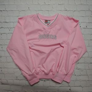 Nike L.A. Dodger's Pink Pullover Jacket XL